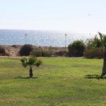 Территория с видом на пляж