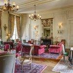 Grand salon du Chateau d Etoges en CHampagne