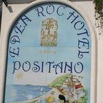 Tiled Hotel Sign