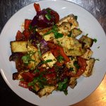 Paneer salat with chilly & onion