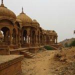Jaisalmer - Chhatris