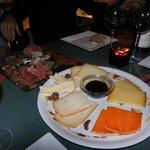 petite planche de fromage