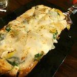 Spinach and Artichoke Flatbread