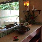 Bathroom in the Spanish casita