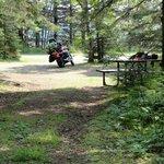 Clean campsites