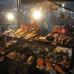 Night food-market