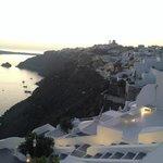 Sun setting over Oia!