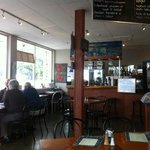 Inside Jan's Cafe and Bistro