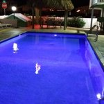 Pool with rotating lights (Blue)