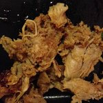 Fatty chunks of gross pulled pork
