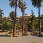View from the other side of plaza de Armas