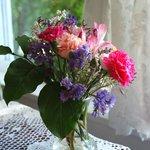 Fresh flowers.....