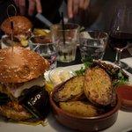 Burger du jour : L'andalous et ses légumes marinés
