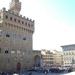 the Piazza della Signoria