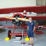 Red Baron's tri-plane