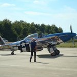 Kermit weeks going to fly Mustang P-51