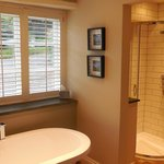 Bathroom - just shut blinds!