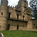Tourist Site - Fasil Ghebbi Castle