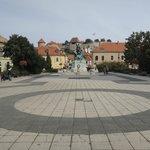 Eger Castle from Dobo Square