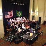 Hastings Philharmonic Choir Rehearsal.