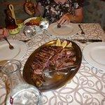 Bistecca fiorentina (Tuscan steak)