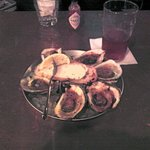 Chargrilled Oysters... My way w/ just butter and hot sauce (they had Tabasco and Crystal but no
