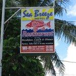 Signage Sea breeze hotel