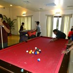 Fully equipped indoor game arena