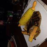 Самая вкусная кукуруза в моей жизни с бататом и нежнейшей вырезкой