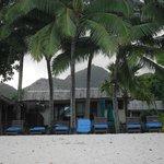Crusoe's Bar on the beach