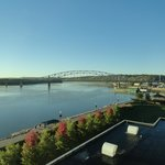 excellent view of the mighty Mississippi