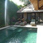 Pool and private room