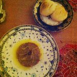 Zaalouk and homemade bread