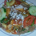 pork yuca salad