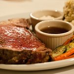 Prime rib dinner for special events and pre orders