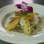 Mille feuille fish croquant