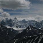 Гора Белуха с перевала Кара-Тюрек