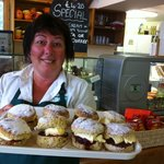 Lovely Cream Teas available in the summer months