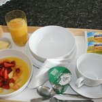 Included in our prices is a continental breakfast