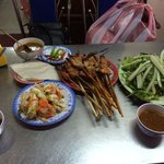 Grill Pork Satay for less than 100,000 vnd