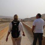 Exploring Saqqara