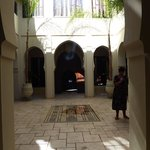 de prachtige binnenhof