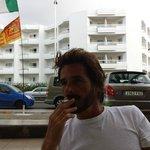 Von der Terrasse aus zum Piu don Miguel