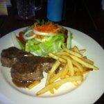 Rib eye steak....mmmm.