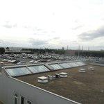 Vista sull'aeroporto di Orly