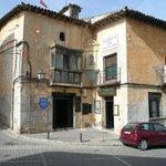 Fachada del Restaurante (antigua casa de la nobleza)