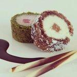 Sweet Sushi roll xoco i maduixa!!!