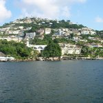 View of the Acapulco Bay from the boat