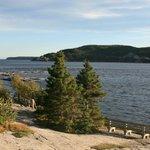 Einmündung des Saguenay River in den St.-Lorenz-Strom