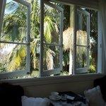 Main window of the Wedgwood room